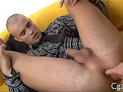 Immodest anal drilling with sex toy