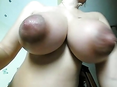Wife (milf) not far from huge natural tits recorded live. Visit sexxxcams.eu for more!