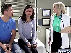 Dirty Doctor Perform Sex Treatment On Hot Patient clip-14