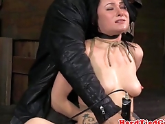 TT submissive gets breath restrained