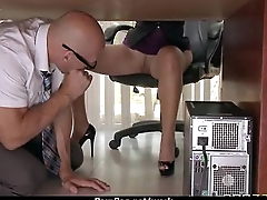 Office assistant getting fucked hard 6