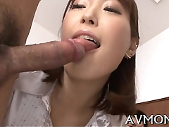 Asian nun goes wild with hairy snatch