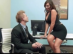 Horny office lady fucked hard uncensored 24