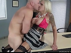HOT horny executive hottie massaged and fucked hard beside office 6