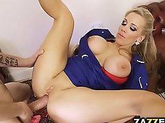 Rebecca fucked on Dannys big cock