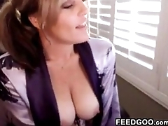 MILF Being A Tease On A Cam Show