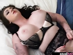 Sex Tape With Naughty Gorgeous Real GF clip-14