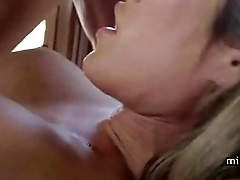 Hot Stepmom Cougar Smoking Sex in Heels