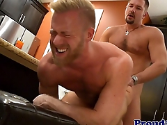 Mature jock assfucking sicpack stud