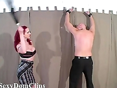Mz Berlin gives a hard, sensual flogging