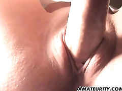 Amateur nurse girlfriend sucks and fucks