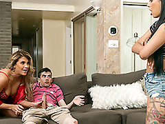 Brazzers HD: Foreign Sexchange with Gina Valentina and Mercedes Carrera