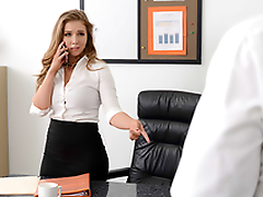 Lena Paul In the porn instalment - My Boss is so Horny