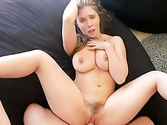 Bysty Sister Persuades Brother Into Oily Teat Fuck  HD Lena Paul Porn