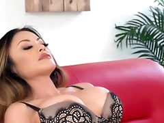 Kaylani Lei is a tattooed chick in want of a hunk's dick