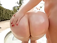 Big Booty MILF Marcy Diamond and Virgo Peridot Ride Big White Bushwa