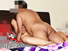 Loud Moaning Desi Wife Pranya getting Fucked Hard in Threesome at the end of one's tether Hubby's Friend