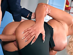 Tommie Jo gets pounded doggy style by Danny D