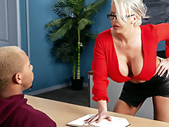 My Prof's Filthy Brashness Starring Alura TNT Jenson coupled with Ricky Johnson