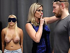 Cory Go out after & Vanessa Coop - Hot Daughter Tricked into a Threesome with Mom & Dad