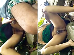 Desi Couple Outdoor Affaire de coeur and wife Hard Fucked By Hubby