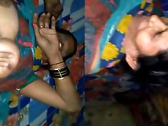 Today Exclusive- Desi Aunty Sex With Young Guy While Hubby Not Home Must watch
