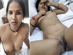 Today Exclusive- Desi Cheating Wife Sucking coupled with Fucked Unconnected with Lover In Hotel Part2