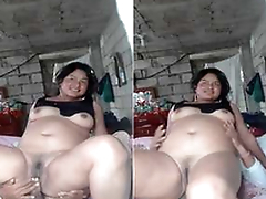 Randomly Exclusive- Desi Cheating Wife Ridding Hubby Friend  Dick
