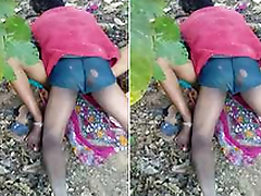 Today Exclusive-Desi Randi Outdoor Drilled
