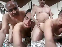 Mature Couple Fucking in Doggy Style