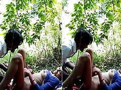 At present Exclusive- Desi Girl OutDoor Fucking
