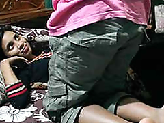 indian juvenile couple anal going to bed in bedroom Part1