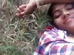 Indian lover outdoor Fucked