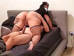 Beamy Ass Sexy XXX! Thick MILF bouncing big booty in a cowgirl position