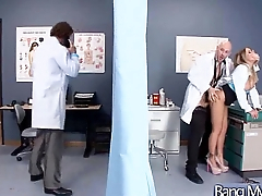 Sex Treatment Apply By Dirty Doctor On Hot Sexy Patient movie-23