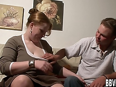 Busty german BBW hoe take cock