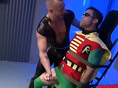 Robin gets edged and abused by Jessie Colter
