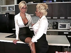 Euro Babe Puma Swede Fucks the Office Slut, Bobbi Eden
