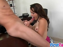 Izzy with respect to her first sex tape