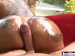 Big Wet Oiled Up Ass Slut Girl Get Anal Gaping void Bang video-09